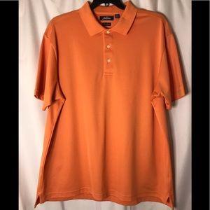 Jack Nicklaus dry range tangerine golf shirt XXL